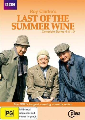1 of 1 - Last Of The Summer Wine : Season Series 9 - 10 DVD, 2010, 3-Disc Set R4