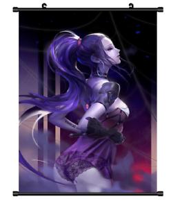 """Hot Japan Anime Overwatch Widowmaker Home Decor Poster Wall Scroll 8/""""x12/"""" FL890"""