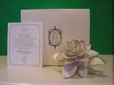 LENOX CLASSIC GARDENIA Flower sculpture NEW in BOX with COA
