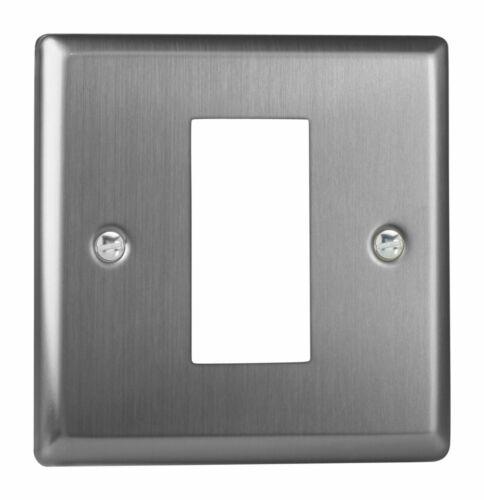 1 DataGrid Space Varilight XTG1 Classic Brushed Steel DataGrid Plate
