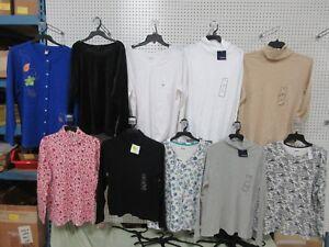Pour Hauts Longues Polaire Attention 10 Tee Col Basic Lot shirt Editions Femmes À Manches gqHHd5wC