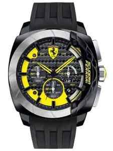 14afa02162a Image is loading Men-039-s-Watch-Scuderia-Ferrari-AeroDinamico-Carbon-