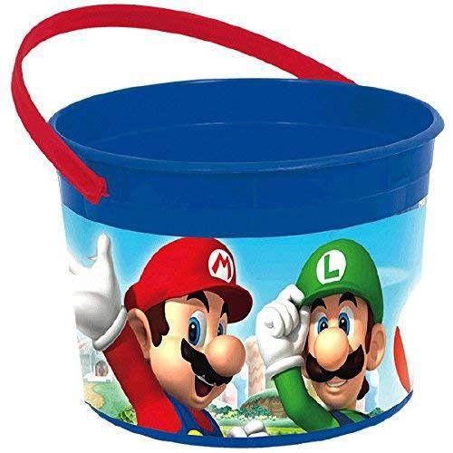 Amscan Super Mario faveur conteneur
