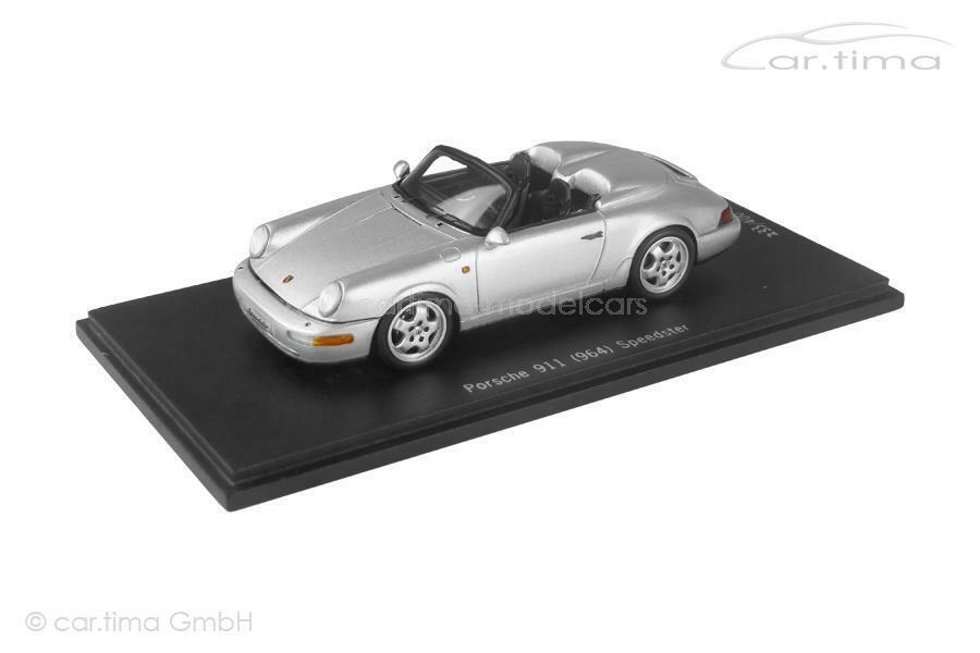 Porsche 911 (964) speedster-Arctique Argent - 1 of 400-spark - 1 43