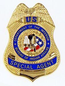 Bureau of indian affairs special agent mini badge lapel for Apush chapter 13 bureau of indian affairs
