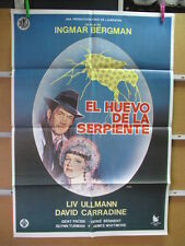 1513      SOL DE VERANO ARTURO FERNANDEZ LUZ MARQEL HUEVO DE LA SERPIENTE INGUEZ
