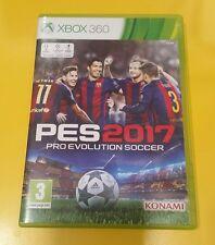 Pes 2017 Pro Evolution Soccer GIOCO XBOX 360 VERSIONE ITALIANA