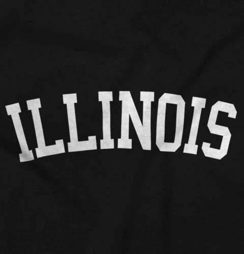Illinois State Shirt Athletic Wear USA T Novelty Gift Ideas T-Shirt