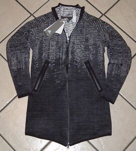 Details about Adidas Women's ZNE Pulse Cover Up Jacket, BR9468, Black, Size XS