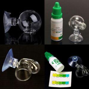 Aquarium-Carbon-Dioxide-CO2-Monitor-Glass-Drop-Ball-Checker-Tester-PH-Indicator