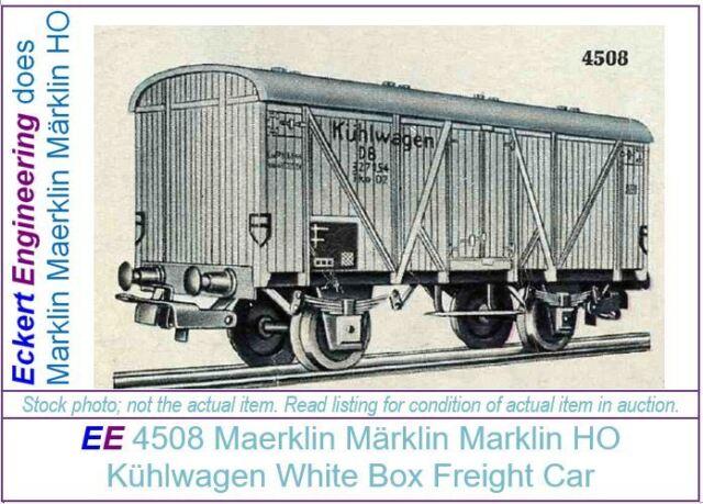 dd MARKLIN HO for 4520 RAILING for Freight Car// Geländer Güterwagen Märklin