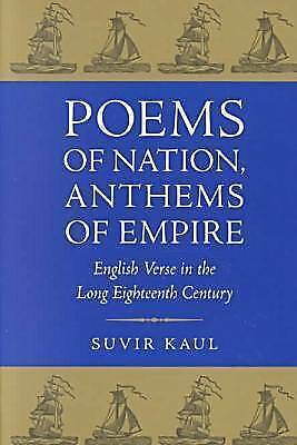 Poems of Nation, Anthems of Empire: English Verse in the Long Eighteenth Centur