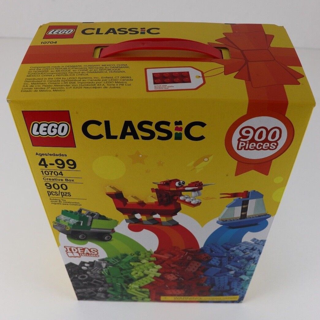 NIB Lego Classic Creative 10704 Box 900 Pieces - Brand New - Fast Shipping