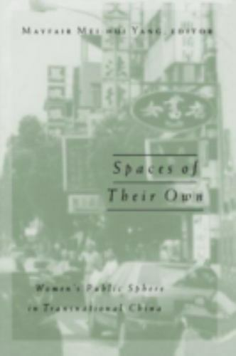 Spaces Of Their Own: Women's Public Sphere in Transnational China (Volume 4) (P