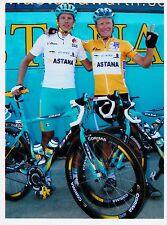 CYCLISME repro PHOTO cycliste ALEXANDRE VINOKOUROV équipe ASTANA