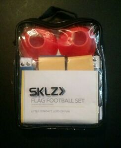 Brand New!! SKLZ10-Man Flag Football Deluxe Set W// Flags and Cones