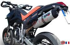 SILENCIEUX GPR FURORE ALU KTM EGS 640 ADVENTURE LC4 2003/06