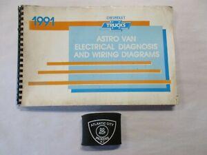 1991 Chevrolet Astro M L Van Models Electrical Diagnosis Wiring Diagrams Manual Ebay