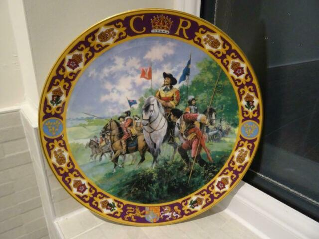 Royal Doulton L/E Plate - King Charles I At The Battle Of Edgehill
