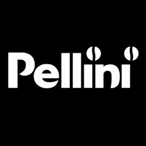 Pellini Top Arabica Espressotassen 6 Stück mit Unterteller Caffe Milano