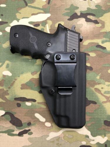 Black Kydex IWB Holster for Sig Sauer P227R w// adj retention App Draw