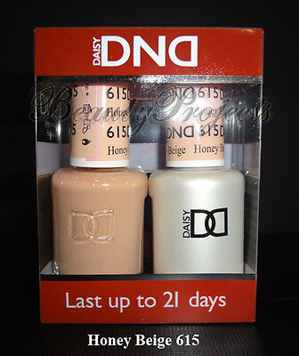 Dnd Daisy Honey Beige 615 Soak Off Dnd Gel Polish 5oz Led Uv Gel Duo Dnd 615 Ebay