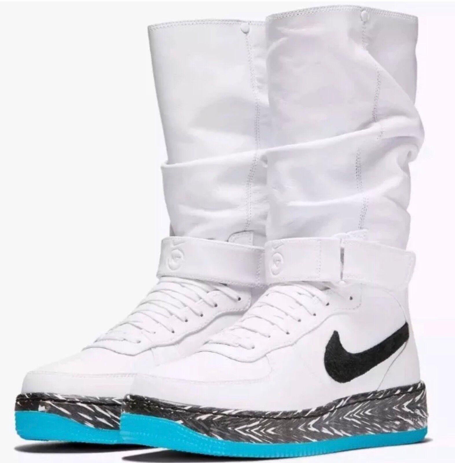 New  Nike  AF1 Upstep Warrior N7 donna 65533;s Dimensione 7 bianca  nero  Turquoise 873308 -103  fino al 70% di sconto