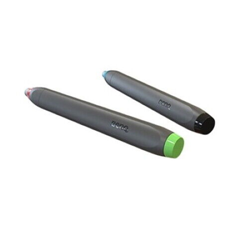 NEW BenQ Set of 2 NFC Pens for Interactive Flat Panels Green//Black//Red//Blue