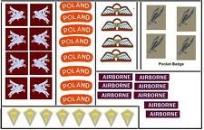1:6 WWII Free Polish Para Division insignia for Dragon and Other