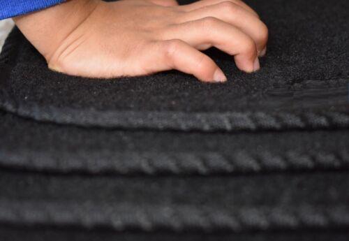 Tailored to fit Kia Picanto 2017 onwards Carpet Car Floor Mats Unique Logo//Clips