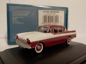 Vauxhall-Cresta-Venetian-Red-Polar-White-Model-Cars-Oxford-Diecast