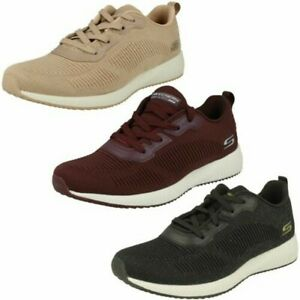 Ladies Skechers Bobs Sports Lace Up