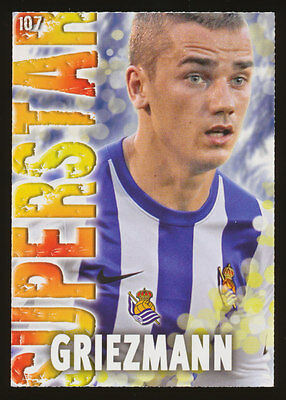 #107. GRIEZMANN (SuperStar) - Real Sociedad  2013/2014 - CARD Mundicromo