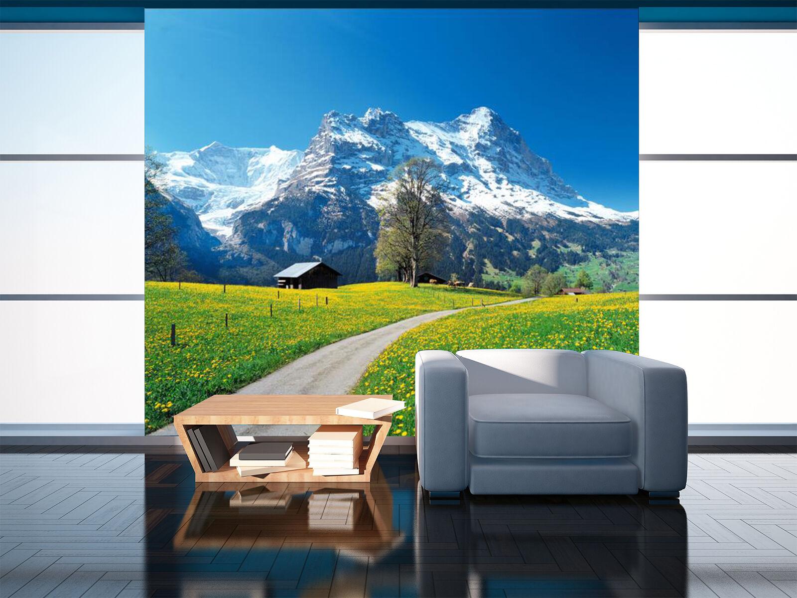 3D 3D 3D Prairie Jour 819 Photo Papier Peint en Autocollant Murale Plafond Chambre Art c689e0