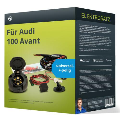 EBA universell NEU inkl Für Audi 100 Avant Elektrosatz 7-pol