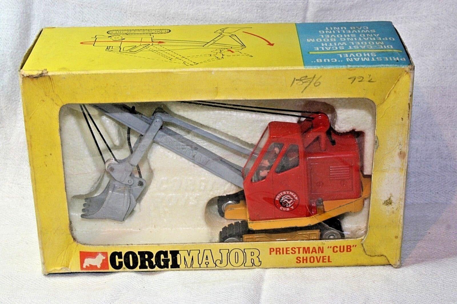 venta Corgi  1128 Priestman Pala, Buen Estado En En En Caja Original  entrega rápida