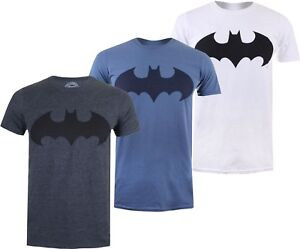 Mens-DC-Comics-MONO-BATMAN-Logo-Symbol-The-Dark-Knight-T-Shirt