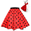 ROCK-N-ROLL-POLKA-DOT-SKIRT-21-034-Length-039-50s-GREASE-LADIES-FANCY-DRESS-COSTUME Indexbild 15