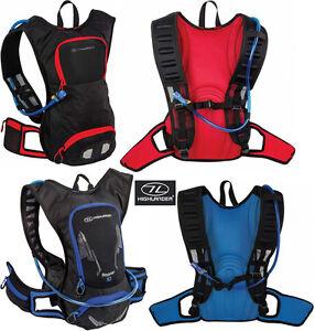 Raptor Hydration Pack Water Bottle Day Backpack Rucksack Aqua Bladder 10L 15L