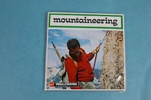 VINTAGE VIEW-MASTER 3D REEL PACKET B971E MOUNTAINEERING COMPLETE