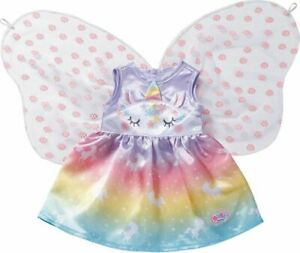Zapf-Creation-Baby-Born-Unicorn-Outfit-39-43cm-Dolls-Baby-Doll-Costume-Accessory