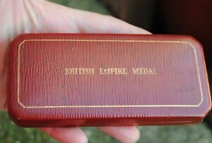 BEM medal in box