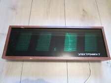 Große Elektronika 7-06K Wanduhr Nixie Wall Clock VFD Tube IV-26 электроникa 7