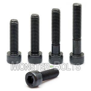 M8 x 10mm Qty 10 8mm DIN 912 Socket Head Cap Screws Black Oxide Grade 12.9