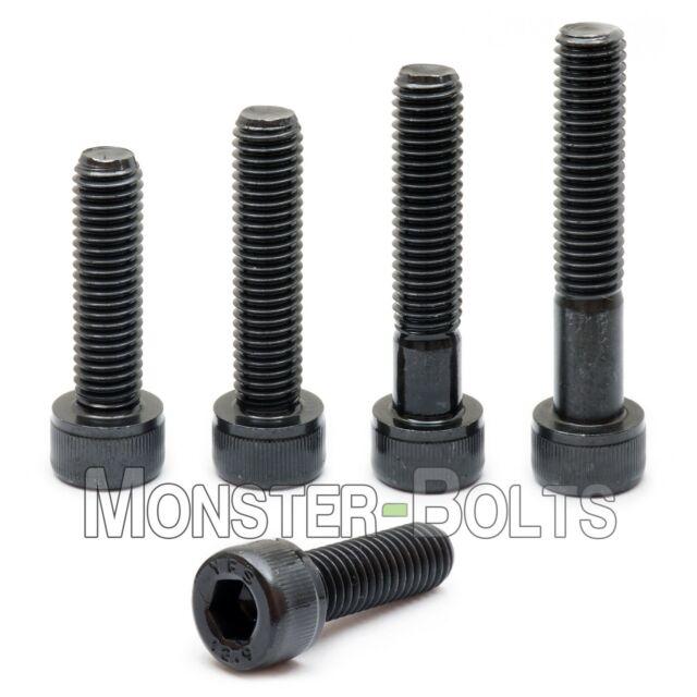 uxcell M5 x 60mm Full Thread Hex Socket Cap Head Screws Bolts 25 Pcs