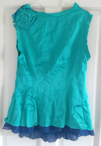 And Marc Us Turquoise Size Top Blue 2 Sleeveless Jacobs RAAzqrwE