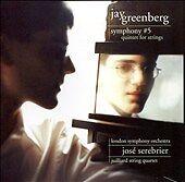 Jay Greenberg: Symphony No. 5; Quintet for Strings Super Audio Hybrid CD (CD, Au