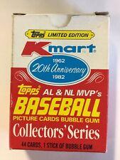 1982 Topps Kmart 20 Th Anniversary Mvp Baseball Card Set For Sale