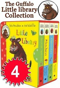 My-First-Gruffalo-Little-Pocket-Library-4-Books-Collection-Set-Julia-Donaldson