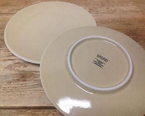 Image is loading Sasaki-Colorstone-Wheat-Texture-Glossy-97612-Gold-2- & Sasaki Colorstone Wheat Texture Glossy 97612 Gold 2 Salad Plates ...